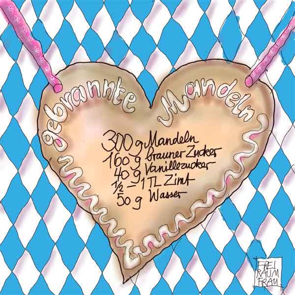 Gebrannte-Mandeln-Freiraumfrau